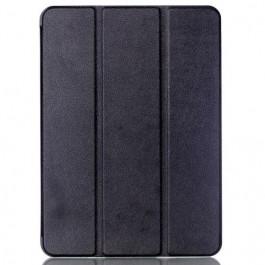 Galaxy Tab S2 9.7 - Tri-fold Smart Läder fodral med Litchi textur - svart 1c97a14d77f64